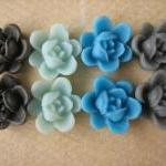 8PCS - Mini Lotus Flower Ca..