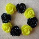8pcs - Mini Rose Flower Ca..