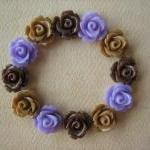 12PCS - Mini Rose Flower Ca..