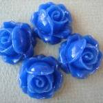 4PCS - Cabbage Rose Flower ..