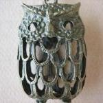 1PC - Antique Brass Owl Pen..