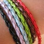 6PCS - Braided Imitation Le..