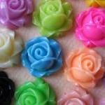20PCS - Cabbage Rose Flower..